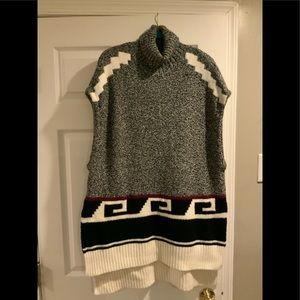 Ann Taylor Turtleneck Sweater Vest